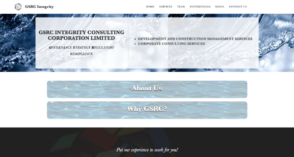 GSRC Integrity website