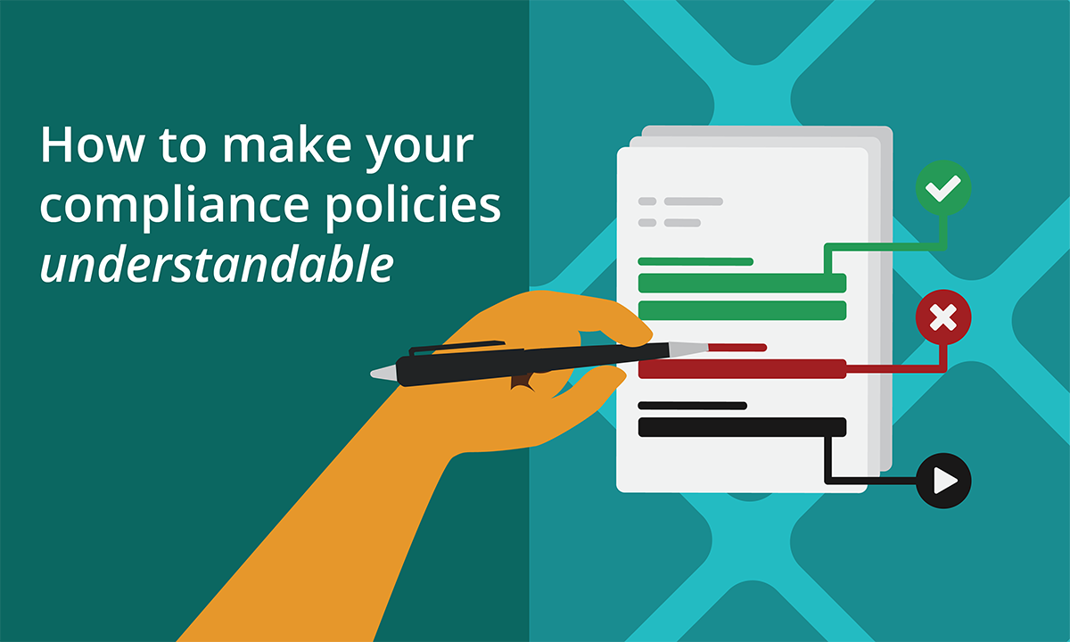 How to make your compliance policies understandable.