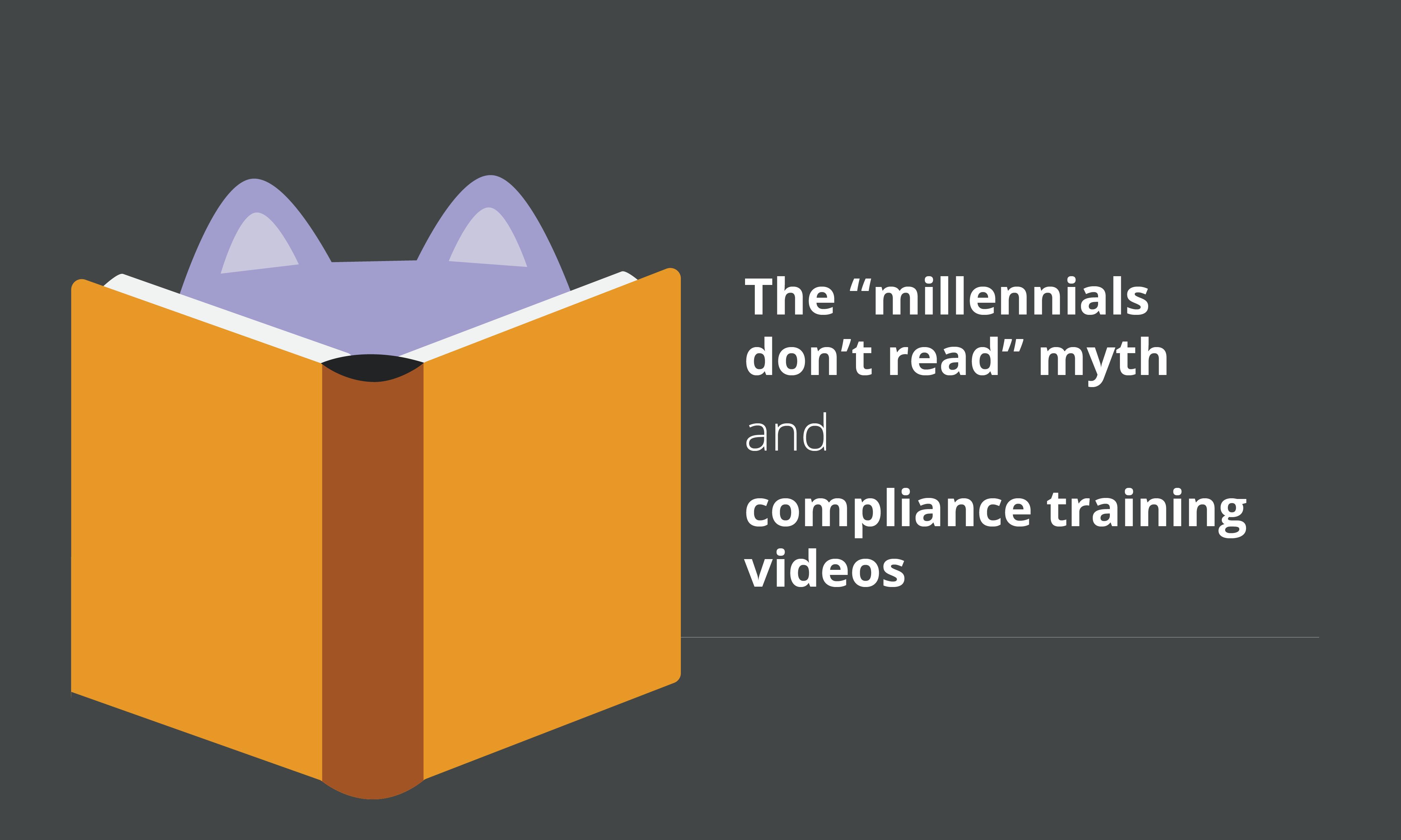 millennials dont read myth blog